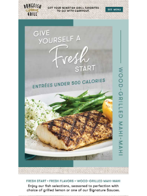 Bonefish Grill - You Deserve Fresh this Year