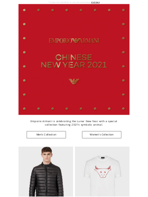 Armani - The Chinese New Year 2021 Collection