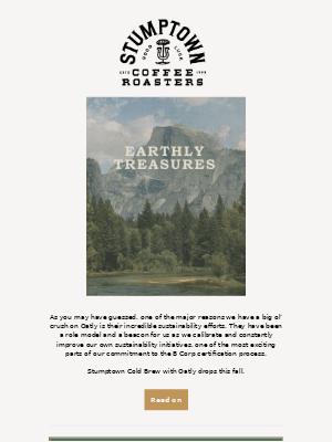Earthly Treasures - Stumptown Cold Brew & Oatly