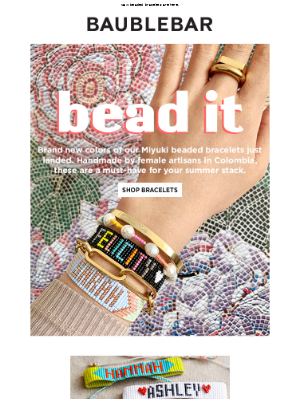 Just bead it