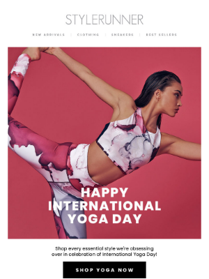 Let's celebrate International Yoga Day 🧘