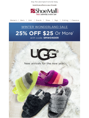 ShoeMall - Step Up Your Look With UGG!