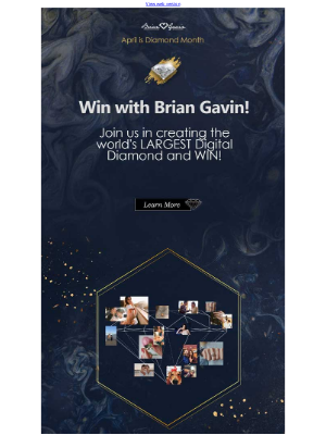 Brian Gavin Diamonds - Will You Win This Diamond (Month)?