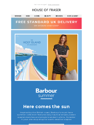 Introducing Barbour's summer collection