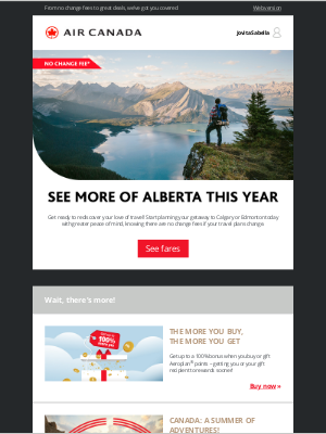 Air Canada - Craving an outdoor adventure? Start planning with our Alberta offers!