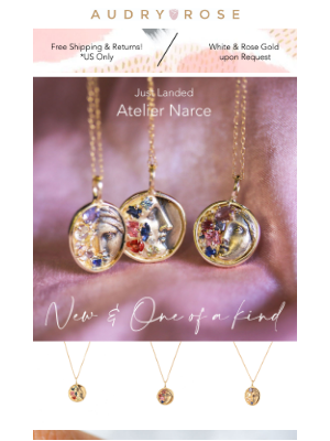 Audry Rose - WOW! These new one-of-a-kind pieces are pieces of art....