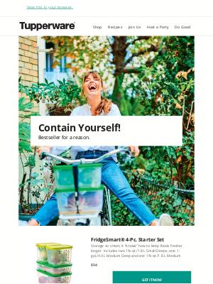 Tupperware - Contain Yourself!