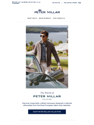 Explore The World Of Peter Millar Collection