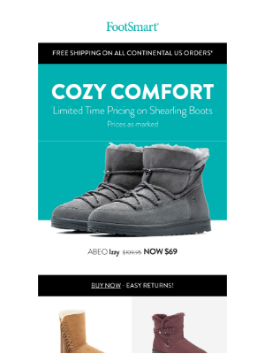 FootSmart - Make WFH Better With Some Cozy Comfort
