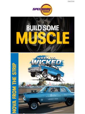 Speedway Motors - Old School & Modern Muscle