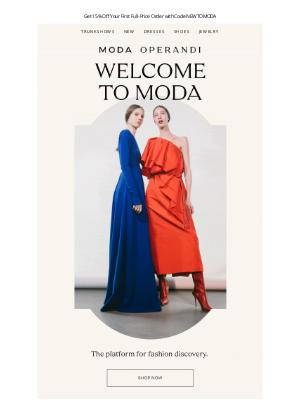Moda Operandi -  You're on the list—here's 15% off