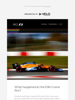 McLaren - What a weekend