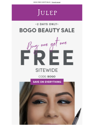 Julep - 🚨 Heads up: this sale is big...