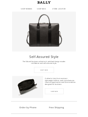 Bally - Bags Designed for Business