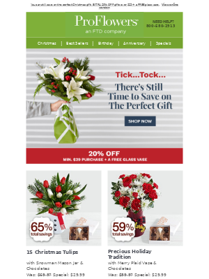 There's still time to send the perfect gift (and save up to 65%!)