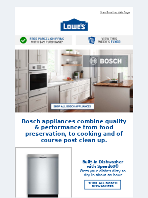 Upgrade your kitchen to A Bosch