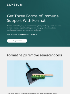 Elysium Health - Want Three Ways to Support Your Immune System? | Exclusive Offer Inside