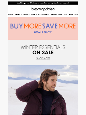Warm up with these sale styles
