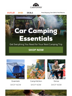 CampSaver - It's Camping Season 🏕️