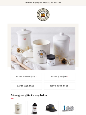 King Arthur Flour - Amazing Gift Ideas for Every Budget