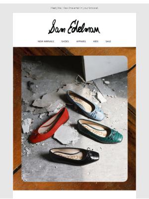 Sam Edelman - Your new favorite flat.