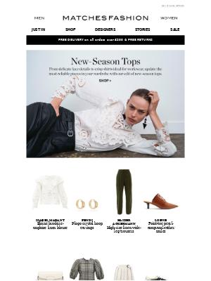Matches Fashion (UK) - New-season tops to elevate your work wardrobe