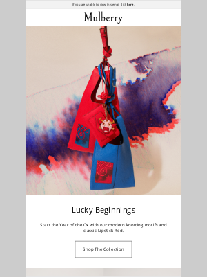 Mulberry (UK) - New Collection: Year of the Ox
