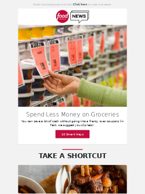 10 Ways to Save on Groceries + Shortcut Beef Stew