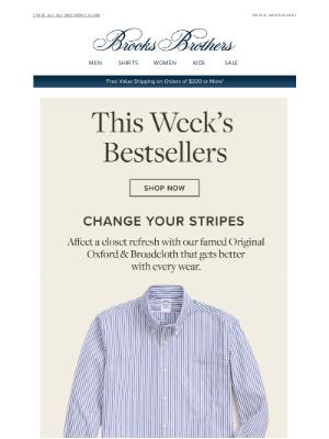 Brooks Brothers (AU) - What everyone is loving this week