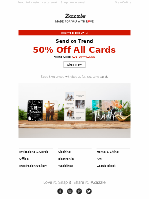 ✨ Send on Trend w/50% OFF All Cards ☝🏽