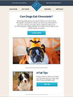 Blue Buffalo - lillian, how toxic is chocolate for your dog?