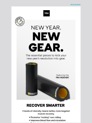 TRX Training - New Gear for Power Recovery