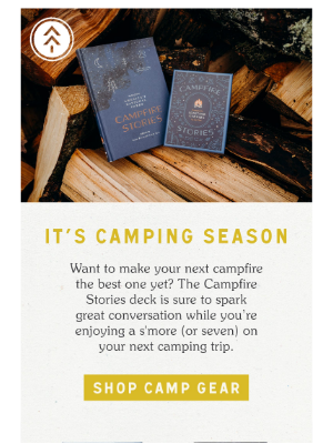 Parks Project - New Arrival: Campfire Stories Deck 🏕