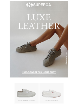 Superga - The only shade of grey you need