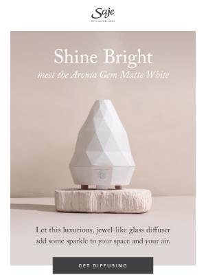Saje Natural Wellness - A new little gem of a diffuser