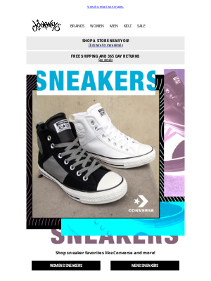 Journeys - This season's Converse sneakers are here 😍