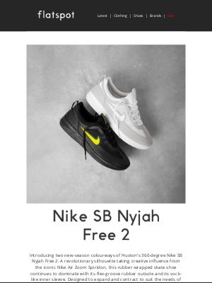 Nike SB Nyjah Free 2 - Online Now