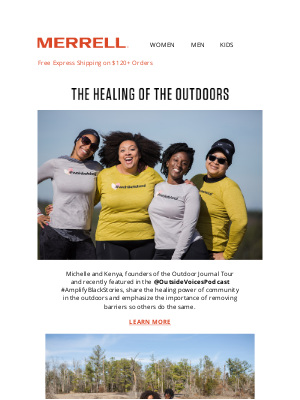 Merrell - The Outdoors is for Everyone
