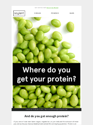 Soylent - 💪 But where do you get your protein? 💪
