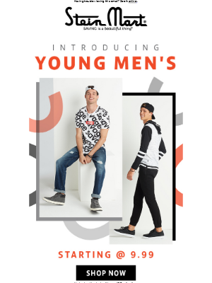 It's Here! Introducing Young Men's!