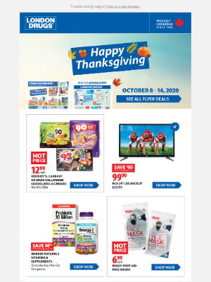 London Drugs (CA) - Your new Weekly Offers are here – shop our flyer deals and browse our popular categories