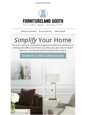 Furnitureland South - Style + Savings