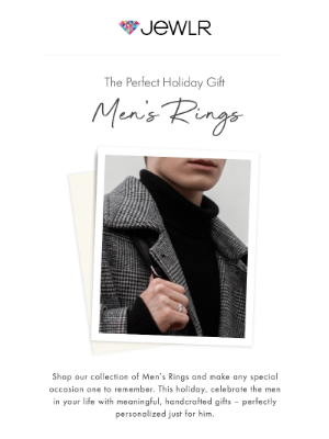 Jewlr - Personalized Men's Rings: The Perfect Holiday Gift