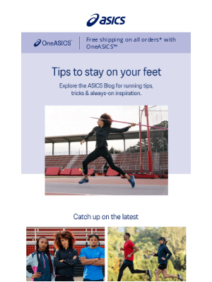 ASICS - Stay in the know with ASICS Blog