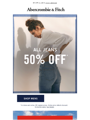Got your weekend jeans?