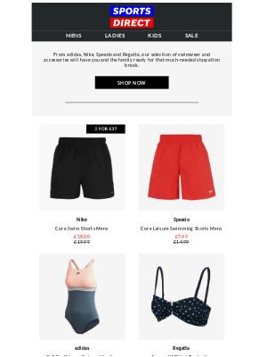Bob's Stores - Staycation Swimwear 🏊
