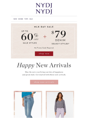 NYDJ - NEW Arrivals for the New Year
