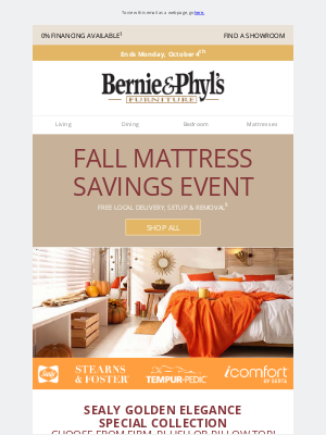 Bernie & Phyl's Furniture - 💛 Final Days 🕔 Sealy Golden Elegance Special Pricing 💛