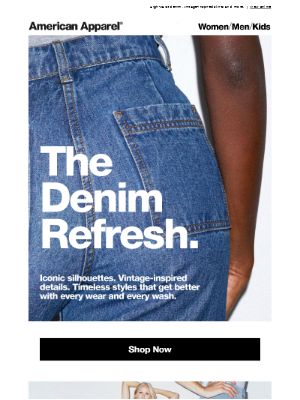 Denim Done Differently