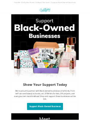 Boxes To Support Black-Owned Businesses